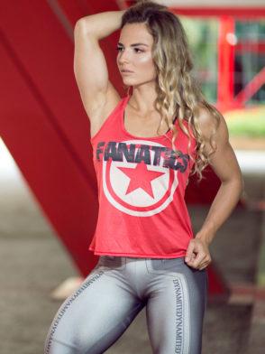 DYNAMITE BRAZIL Regata RF300 FANATICS Red-Sexy Tops Workout Tanks