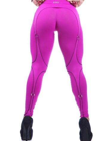 DYNAMITE Brazil Leggings L989 Hot Pink Corset Legging