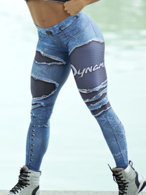 DYNAMITE BRAZIL Leggings L400 Placebo Denim-Sexy Workout Legging