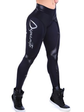 DYNAMITE Brazil Leggings L989 Black Corset Legging