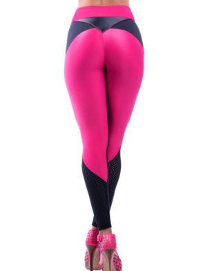 DYNAMITE Brazil Leggings L991 Pink Rosa Sexy Workout Leggings