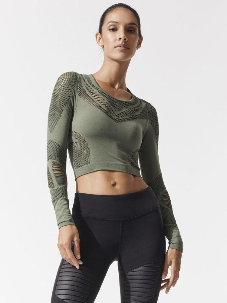b3d0c74da9 ALO Yoga Vixen Fitted Muscle Tank Top -Sexy Yoga Tops White