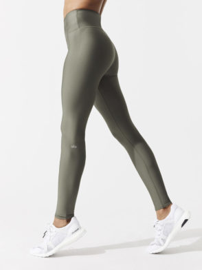 ALO Yoga Airbrush Legging High-Waist AirLift Sexy Leggings Jungle