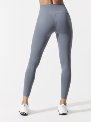 ALO Yoga Sexy 7/8 HW AIRBRUSH LEGGING - Sexy Pilates Leggings Concrete