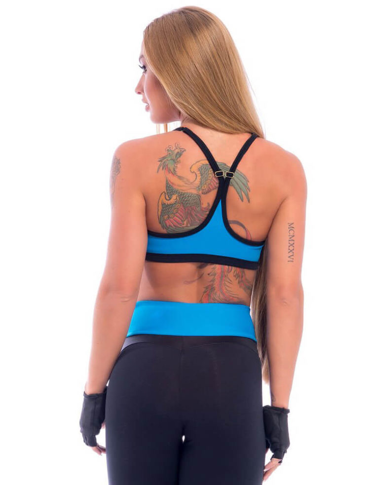 SUPERHOT Bra Top1980 Sexy Workout Tops-Cute Yoga Sport Bra