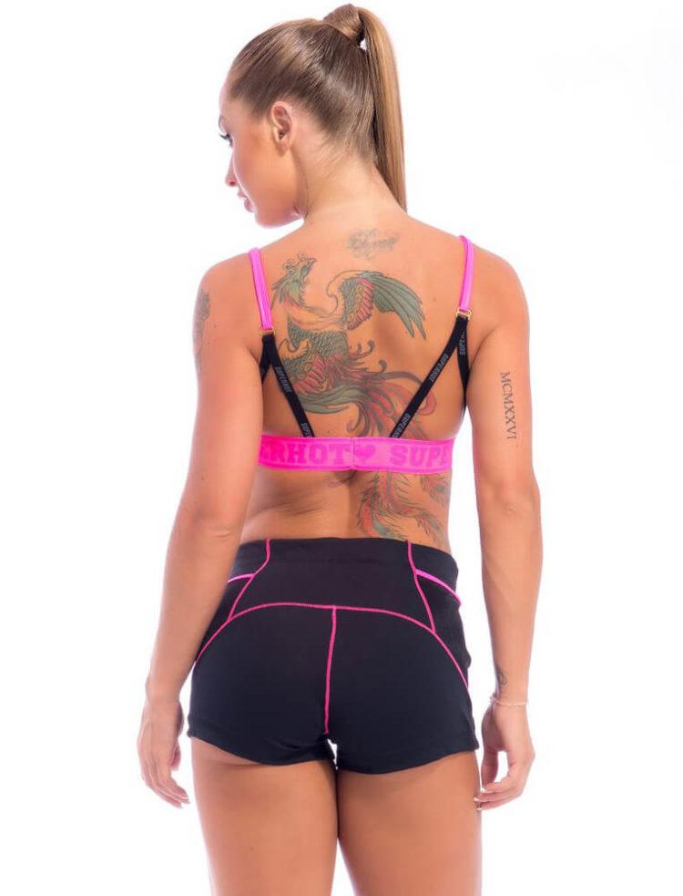 SUPERHOT Bra Top1993 - Sexy Workout Tops-Cute Yoga Sport Bra