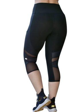 ALO Yoga Align Capri Sexy Leggings - Black