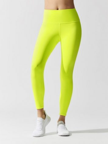 ALO Yoga Sexy 7/8 HW AIRBRUSH LEGGING – Highlighter