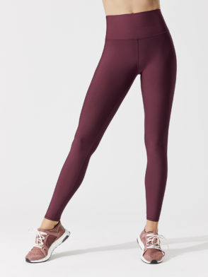 ALO Yoga Airbrush Legging High-Waist AirLift Sexy Leggings Black Cherry
