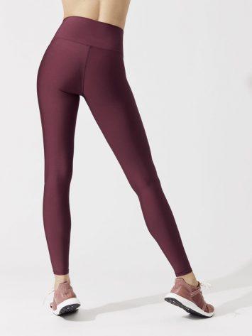ALO Yoga Airbrush Legging High-Waist AirLift Sexy Leggings Black Cherry