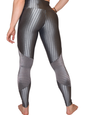 CAJUBRASIL 5924 Gray Cigarette Zipper - Sexy Leggings