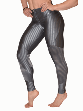 CAJUBRASIL 5924 Gray Cigarette Zipper – Sexy Leggings