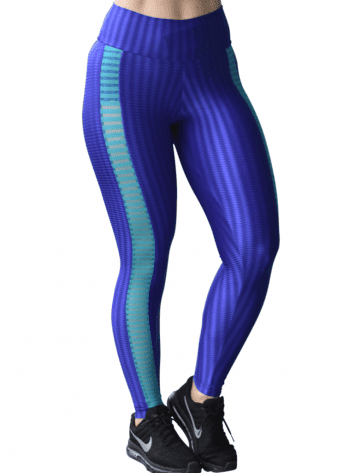 CAJUBRASIL Leggings 8120 Purple Sexy Leggings Brazilian
