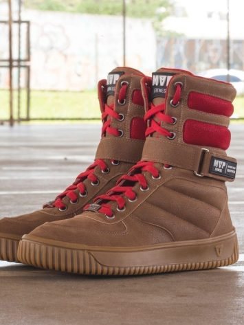 MVP Fitness Boot Fashion 70121 Caramel Workout Sneakers