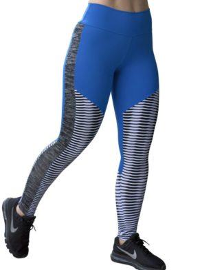 CAJUBRASIL Leggings 8124 Blue Sexy Leggings Brazilian
