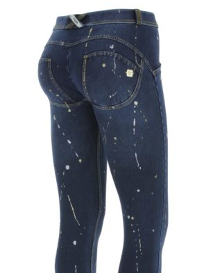 FREDDY WR.UP Drip Effect Glitter Reg Rise Skinny-fit trousers -WRUP1RF805