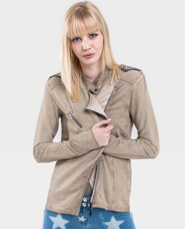 FREDDY WR.UP Full Zip Sweatshirt Jacket long sleeves - S9WTWS4