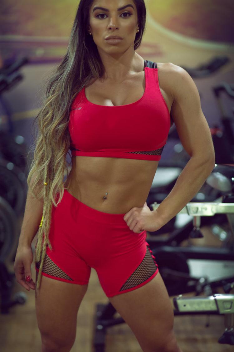 DYNAMITE BRAZIL Shorts SH2096 Sweet Cherry-Sexy Workout Shorts