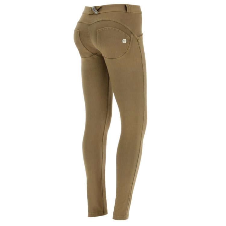 WR.UP® regular-rise skinny-fit trousers with a distressed effect