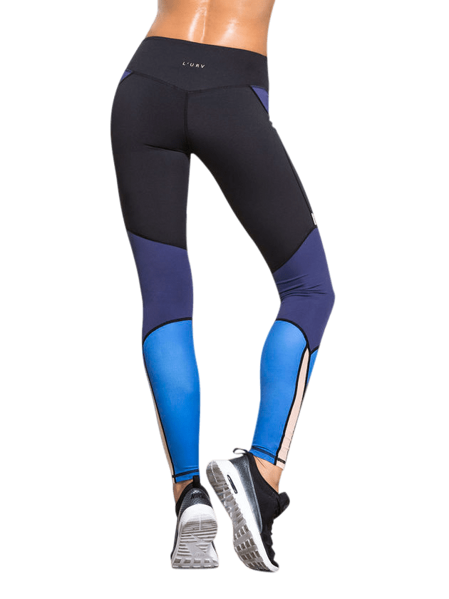 L'URV Leggings I Am a Dreamer Navy Sexy Workout Tights