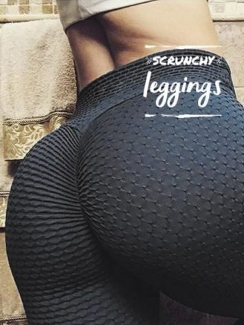 Scrunchy Leggings – High-Waist Anti-Cellulite BFB