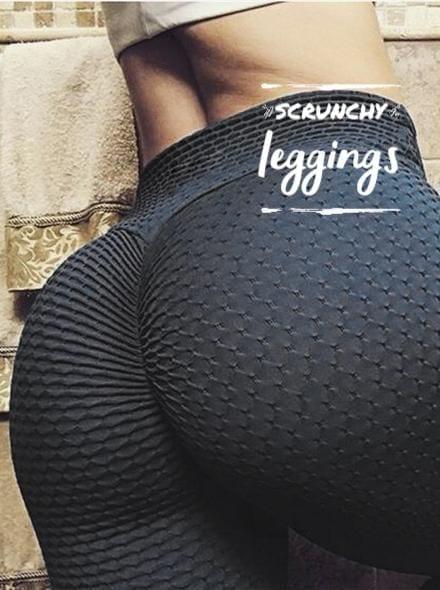 Scrunchy Leggings - High-Waist Anti-Cellulite BFB