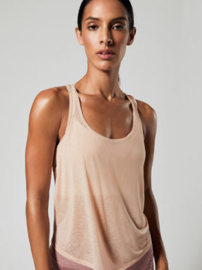 ALO Yoga Arrow Tank Top (nectar)