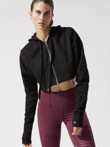ALO Yoga Extreme Crop Jacket (black)