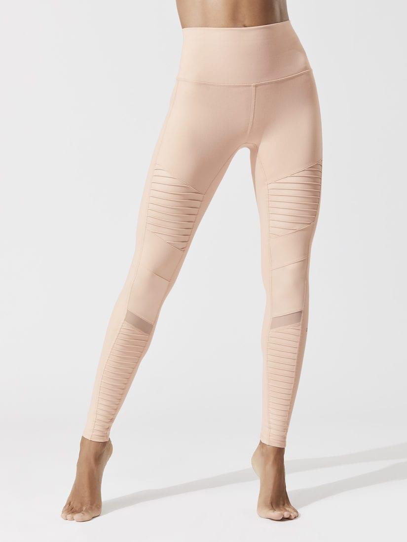 ALO Yoga Continuity Capri Sexy Leggings - white cda042745811