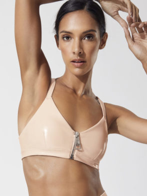 ALO Yoga Liquid Sports Bra Top (nectar)