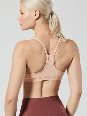 ALO Yoga Dhyana Sports Bra Top (nectar)