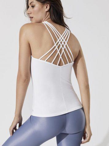 ALO Yoga Harmony Tank Top (white)
