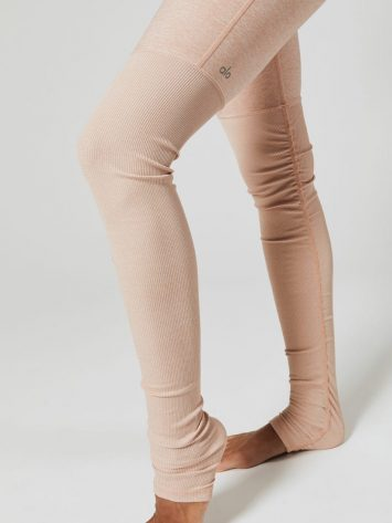 ALO Yoga High-Waist Alosoft Goddess Legging (nectar heather)