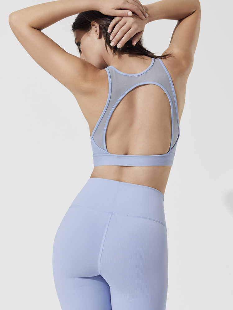 ALO Yoga Incline Bra (UV Blue)