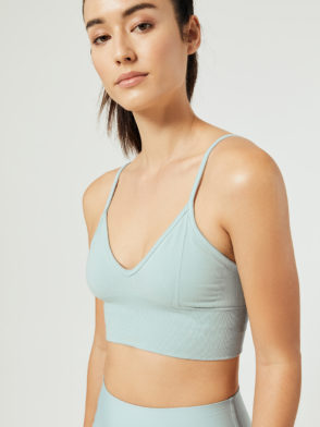ALO Yoga Delight Bralette Sports Bra Top (cloud)