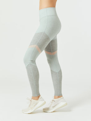 ALO Yoga High-Waist Alosoft Sheila Legging (Cloud-Zinc-Nector)