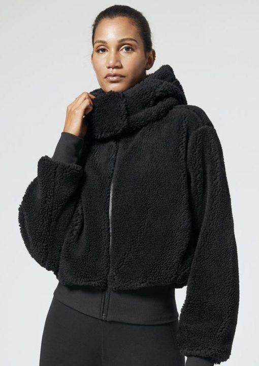 ALO Yoga Sherpa Jacket (black)