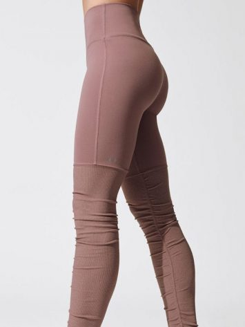 ALO Yoga High-Waist Goddess Legging (smoky quartz)