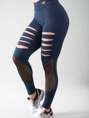 BFB Leggings Poa Side Detail (Purple)