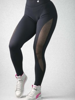 BFB Leggings – Suplex Mesh (Black)