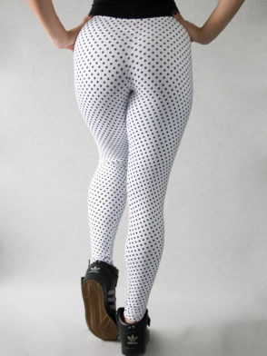 Legging Poa Pants – Mini White
