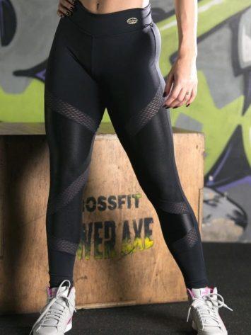 Legging – Black Detail Mesh (Cirre material)