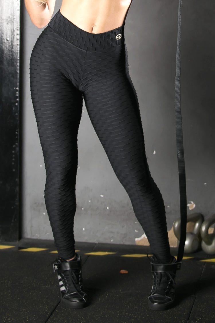 Legging Black Jacaranda - (Black)