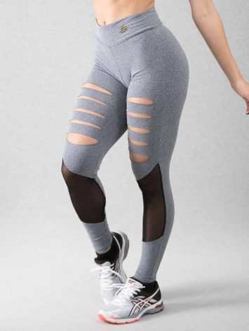 Legging Tears & Thule Suplex Gray