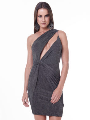 LabellaMafia Dress MVT16204 Dark Metal Gray Dress