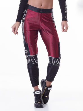 LabellaMafia Hardcore Claret Jogging – Black MCL16178