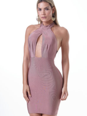 LabellaMafia Dress MVT16130 Pastel Glamorous Dress