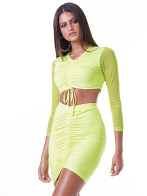 LabellaMafia Dress Neon Set – MCJ16081
