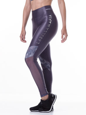 LabellaMafia Animal Print Gray Legging – FCL13799