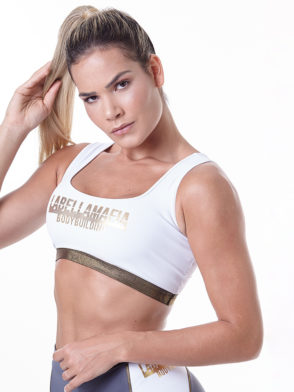 LabellaMafia Bodybuilding Fitness Sports Bra Top – FTP13852